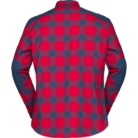 Norrøna Svalbard Flannel Shirt Herr jester red